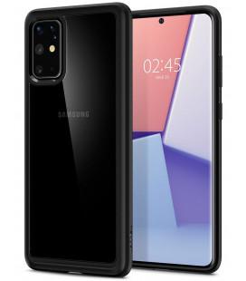 """Matinis juodas dėklas Samsung Galaxy S20 Plus telefonui """"Spigen Ultra Hybrid"""""""