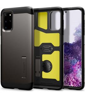 """Pilkas dėklas Samsung Galaxy S20 Plus telefonui """"Spigen Tough Armor"""""""