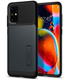 """Pilkas dėklas Samsung Galaxy S20 Plus telefonui """"Spigen Slim Armor"""""""