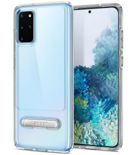 "Skaidrus dėklas Samsung Galaxy S20 Plus telefonui ""Spigen Slim Armor Essential S"""
