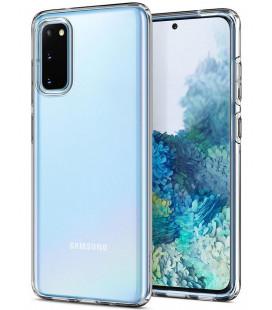 "Skaidrus dėklas Samsung Galaxy S20 telefonui ""Spigen Liquid Crystal"""