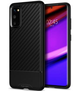 """Juodas dėklas Samsung Galaxy S20 telefonui """"Spigen Core Armor"""""""