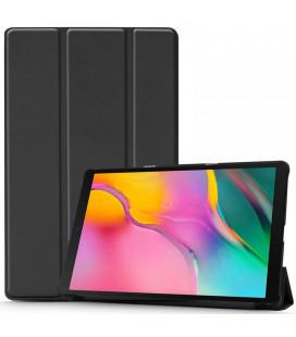 """Juodas atverčiamas dėklas Samsung Galaxy Tab A 10.1 2019 T510 / T515 planšetei """"Tech-Protect Smartcase"""""""