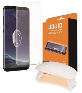 """Lenktas apsauginis grūdintas stiklas Samsung Galaxy S9 Plus G965F telefonui """"T-Max UV"""""""