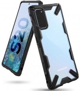"""Juodas dėklas Samsung Galaxy S20 telefonui """"Ringke Fusion X"""""""
