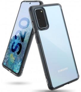 """Juodas dėklas Samsung Galaxy S20 telefonui """"Ringke Fusion"""""""