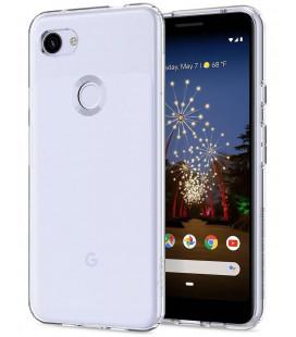"Skaidrus dėklas Google Pixel 3A telefonui ""Spigen Liquid Crystal"""