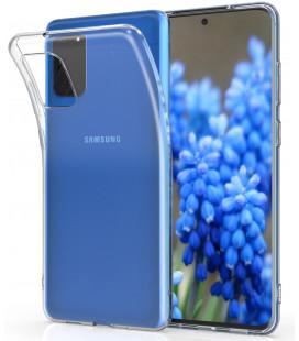 Skaidrus plonas 0,3mm silikoninis dėklas Samsung Galaxy S20 telefonui