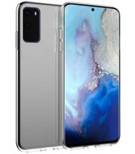 Skaidrus plonas 0,3mm silikoninis dėklas Samsung Galaxy S20 Plus telefonui