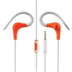 """Oranžinės-baltos ausinės sportuojantiems """"HF GT Sport"""""""
