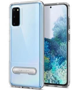 "Skaidrus dėklas Samsung Galaxy S20 telefonui ""Spigen Slim Armor Essential S"""