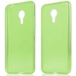 """Žalias silikoninis dėklas Meizu MX5 telefonui """"Fitty"""""""
