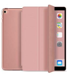 """Rausvai auksinės spalvos atverčiamas dėklas Apple iPad 10.2 2019 planšetei """"Tech-Protect Smartcase"""""""