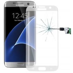 """Stiklo apsauga - lenktas skaidrus grūdintas stiklas """"Tempered Glass"""" Samsung Galaxy S7 Edge G935 telefonui."""