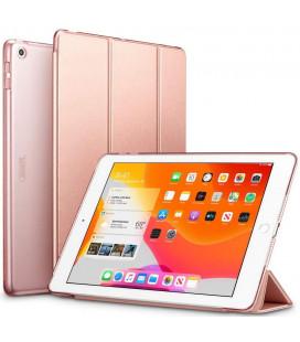 """Rausvai auksinės spalvos atverčiamas dėklas Apple iPad 10.2 2019 planšetei """"ESR Yippee"""""""