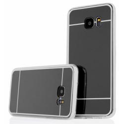 """Juodas silikoninis dėklas Samsung Galaxy S7 Edge G935 telefonui """"Mirror"""""""