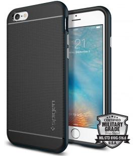 "Juodas dėklas Apple iPhone 6 / 6s telefonui ""Spigen Neo Hybrid"""
