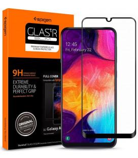 """Apsauginis grūdintas stiklas Samsung Galaxy A50 / A30s telefonui """"Spigen Glas.TR Slim"""""""