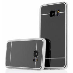 """Juodas silikoninis dėklas Samsung Galaxy S7 telefonui """"Mirror"""""""