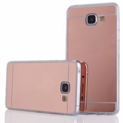 """Rausvai auksinės spalvos silikoninis dėklas Samsung Galaxy A5 2016 A510 telefonui """"Mirror"""""""