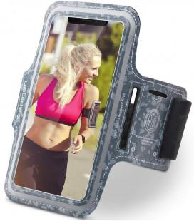 "Pilkas universalus dėklas ant rankos telefonams iki 6,9"" ""Spigen A700"""