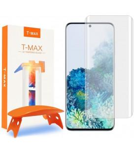 """Apsauginis grūdintas stiklas Samsung Galaxy S20 telefonui """"T-Max UV"""""""
