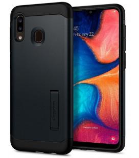 "Pilkas dėklas Samsung Galaxy A40 telefonui ""Spigen Slim Armor"""