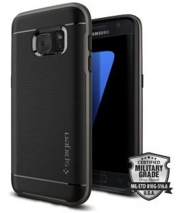 "Pilkas dėklas Samsung Galaxy S7 telefonui ""Spigen Neo Hybrid"""
