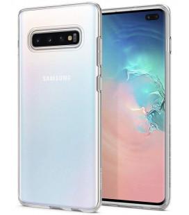 "Skaidrus dėklas Samsung Galaxy S10 Plus telefonui ""Spigen Liquid Crystal"""