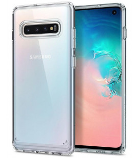 "Skaidrus dėklas Samsung Galaxy S10 telefonui ""Spigen Ultra Hybrid"""