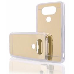 """Auksinės spalvos silikoninis dėklas LG G5 H850 telefonui """"Mirror"""""""