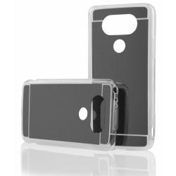 """Juodas silikoninis dėklas LG G5 H850 telefonui """"Mirror"""""""