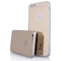 """Auksinės spalvos silikoninis dėklas Apple iPhone 6 Plus / 6s Plus telefonui """"Mirror"""""""