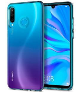 "Skaidrus dėklas Huawei P30 Lite telefonui ""Spigen Liquid Crystal"""