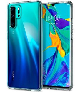 """Skaidrus dėklas Huawei P30 Pro telefonui """"Spigen Ultra Hybrid"""""""