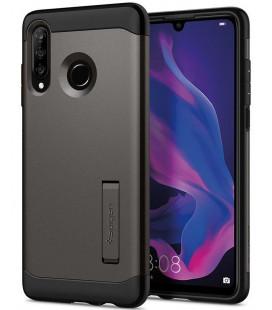 """Pilkas dėklas Huawei P30 Lite telefonui """"Spigen Slim Armor"""""""