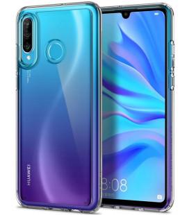 "Skaidrus dėklas Huawei P30 Lite telefonui ""Spigen Ultra Hybrid"""