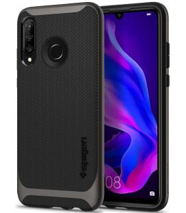 """Pilkas dėklas Huawei P30 Lite telefonui """"Spigen Neo Hybrid"""""""