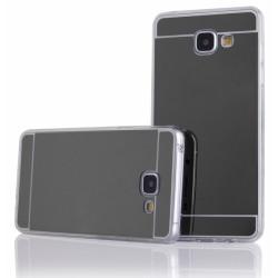 """Juodas silikoninis dėklas Samsung Galaxy A3 2016 A310 telefonui """"Mirror"""""""