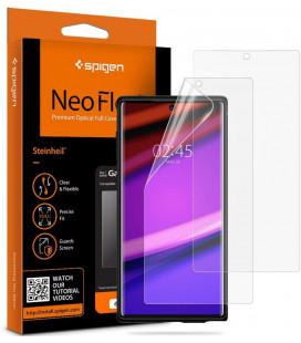 "Apsauginės ekrano plėvelės Samsung Galaxy Note 10 telefonui ""Spigen Neo Flex HD"""