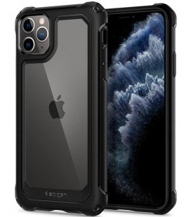 "Juodas dėklas Apple iPhone 11 Pro telefonui ""Spigen Gauntlet"""