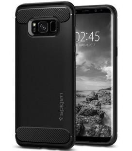 """Juodas dėklas Samsung Galaxy S8 telefonui """"Spigen Rugged Armor"""""""