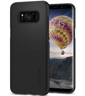 "Juodas dėklas Samsung Galaxy S8 telefonui ""Spigen Thin Fit"""