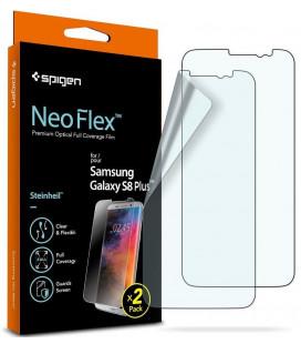 "Apsauginės ekrano plėvelės Samsung Galaxy S8 Plus telefonui ""Spigen Neo Flex HD"""