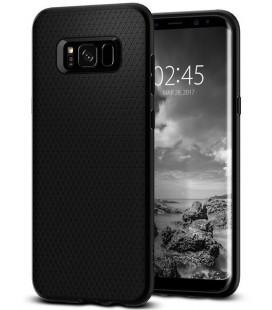 """Juodas dėklas Samsung Galaxy S8 Plus telefonui """"Spigen Liquid Air"""""""