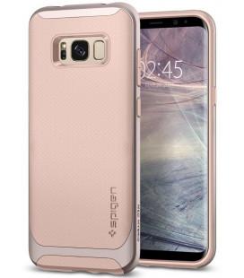 """Rožinis dėklas Samsung Galaxy S8 telefonui """"Spigen Neo Hybrid"""""""