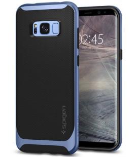 "Mėlynas/Juodas dėklas Samsung Galaxy S8 telefonui ""Spigen Neo Hybrid"""