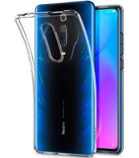 """Skaidrus dėklas Xiaomi Mi 9T / Mi 9T Pro telefonui """"Spigen Liquid Crystal"""""""