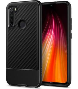 "Juodas dėklas Xiaomi Redmi Note 8 telefonui ""Spigen Core Armor"""
