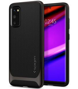 "Pilkas dėklas Samsung Galaxy S20 telefonui ""Spigen Neo Hybrid"""